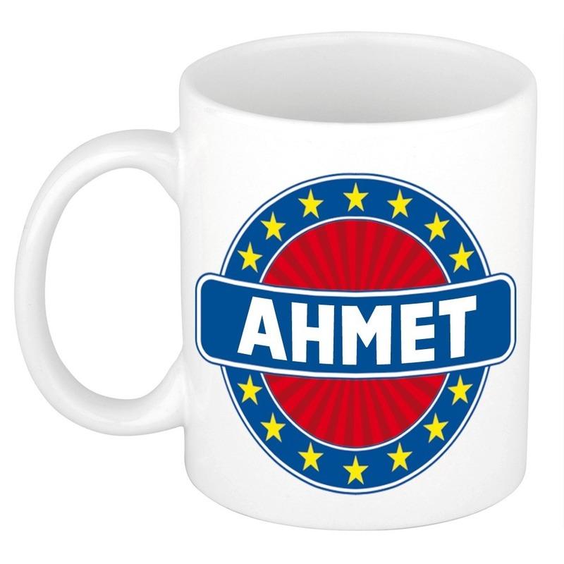 Ahmet naam koffie mok - beker 300 ml