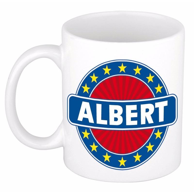 Albert naam koffie mok / beker 300 ml