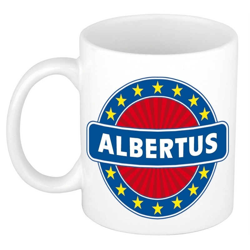 Albertus naam koffie mok / beker 300 ml
