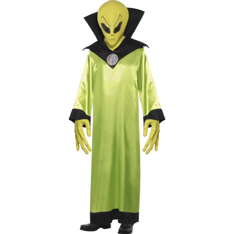 Alien kostuum met masker