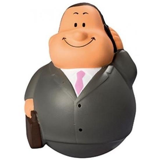 Anti stressbal zakenman in pak 9 cm