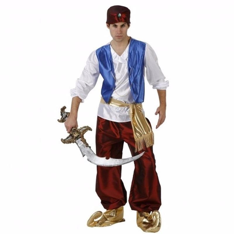 Arabische strijder Badir kostuum voor heren