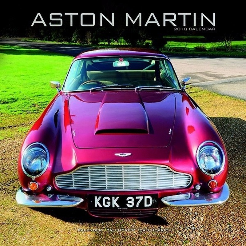 Auto kalender 2018 Aston Martin