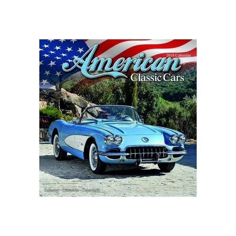 Auto kalender 2019 American Classic Cars