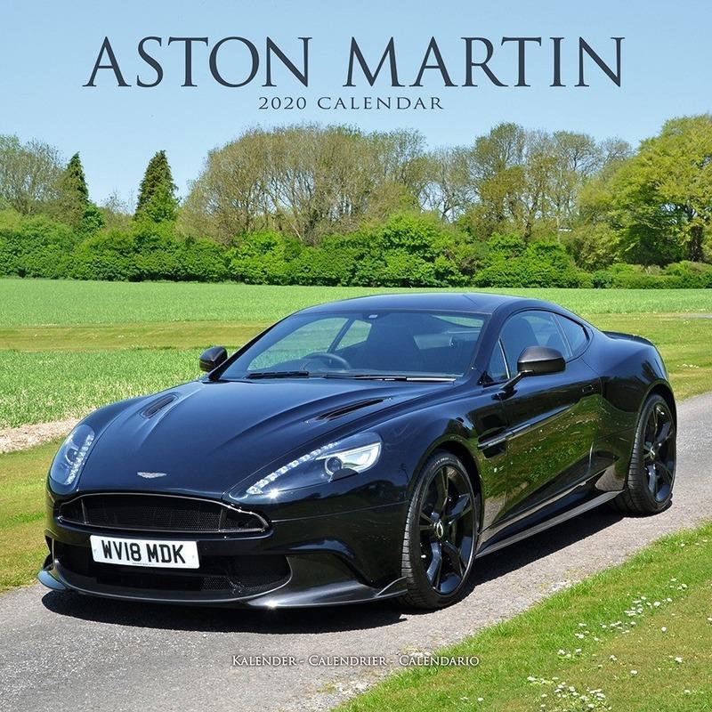Auto kalender 2020 Aston Martin