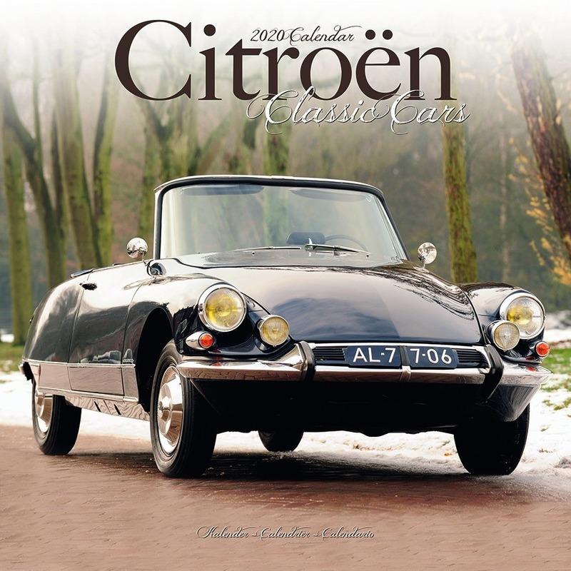 Auto kalender 2020 Citroen klassieke autos