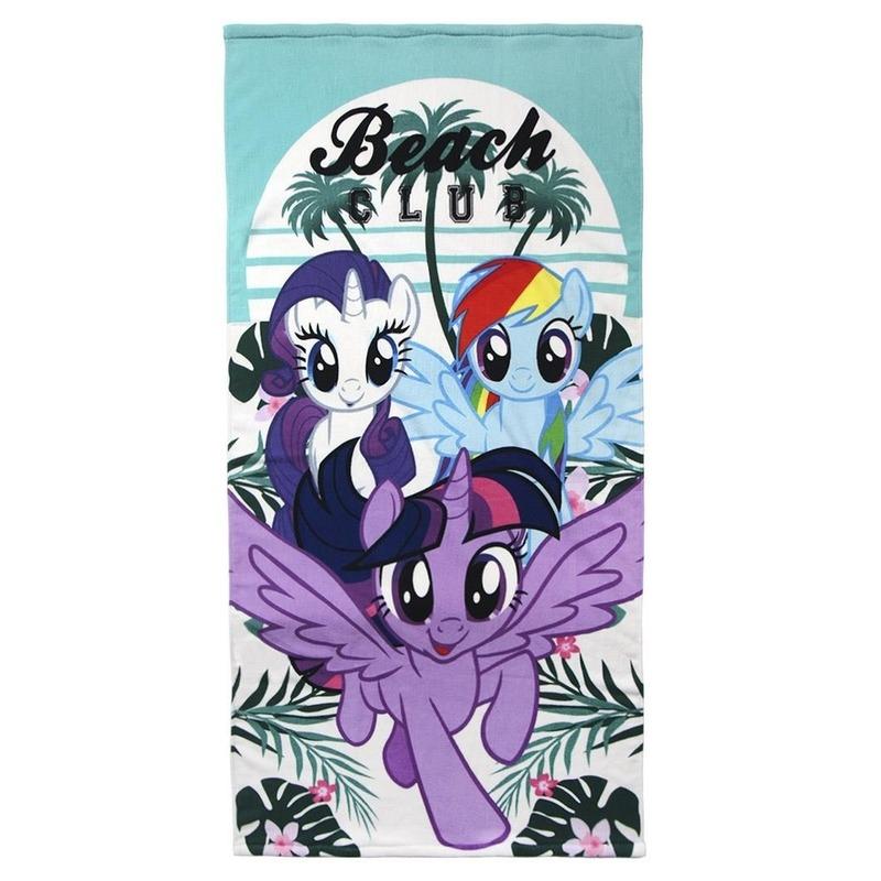 Badlaken/strandlaken My Little Pony 70 x 140 cm