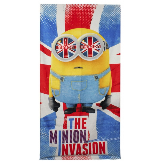Badlaken The Minion Invasion 70 x 140 cm
