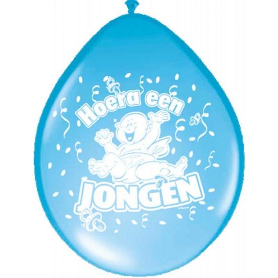 Ballonnen geboorte jongen