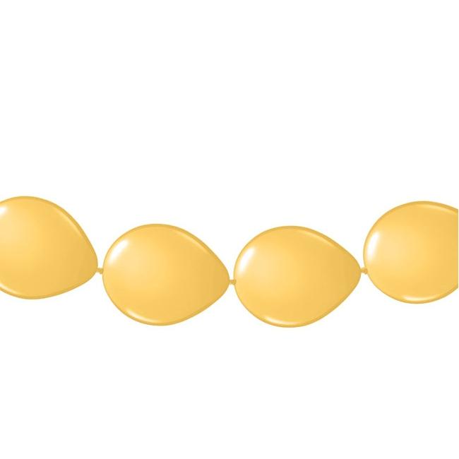 Ballonnen slinger goud 3 meter