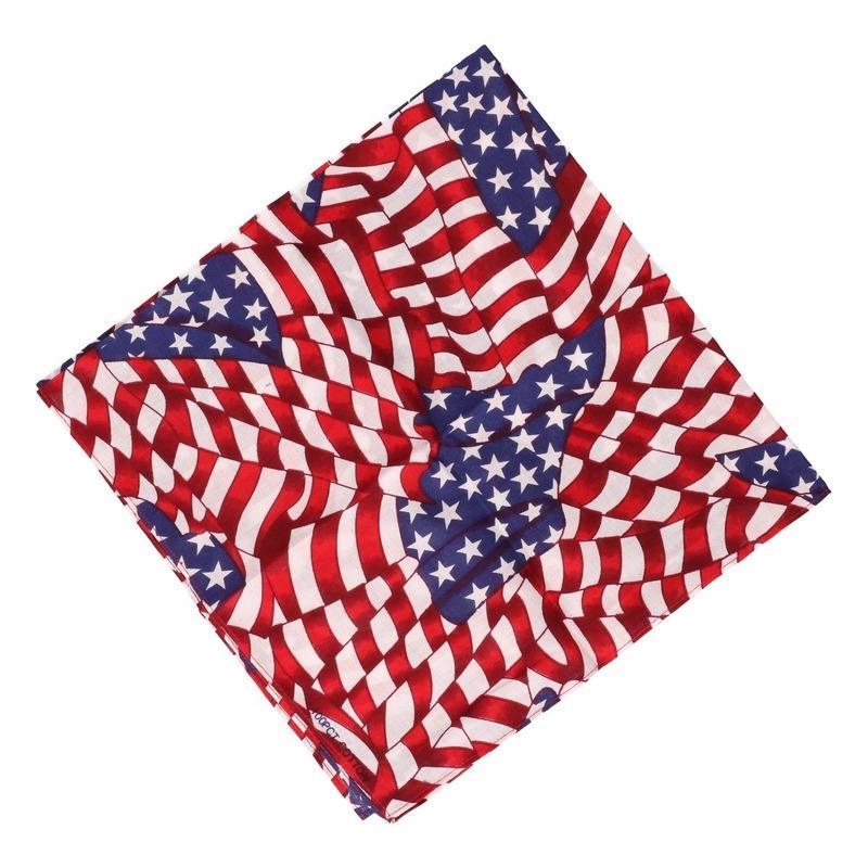 Bandana USA mini vlaggetjes