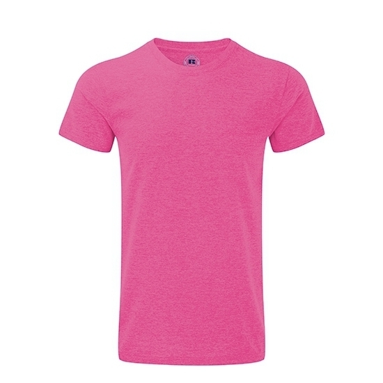 Basic heren T-shirt roze