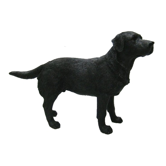 Beeldje Labrador zwart 14 cm