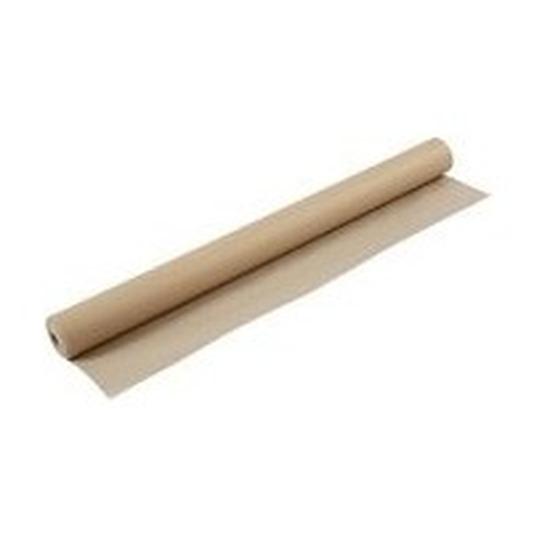 Beige papieren tafellaken/tafelkleed 800 x 118 cm op rol
