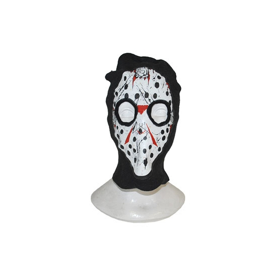 Bivakmuts met horror masker