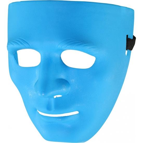 Blauw gezichtsmasker