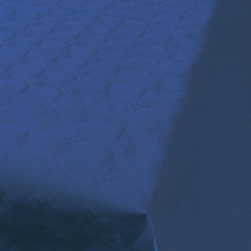 Blauw papieren tafellaken/tafelkleed 800 x 118 cm op rol