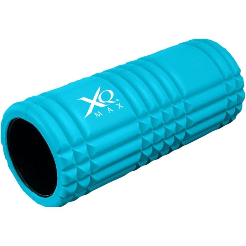 Blauwe foam roller 33 cm fitnessartikelen