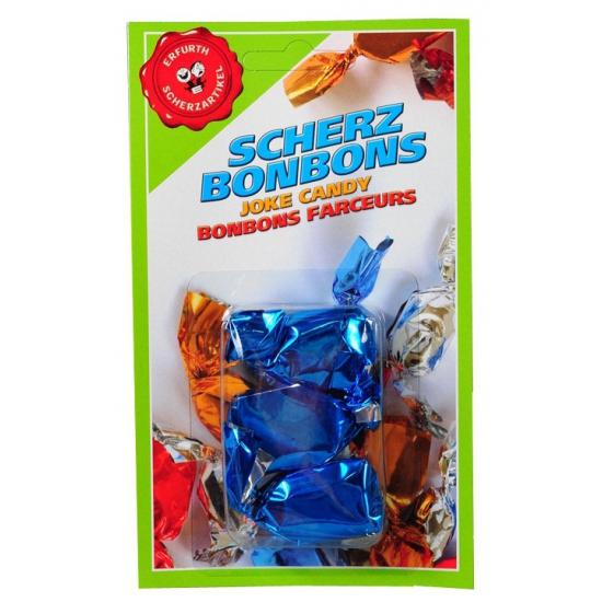 Blauwe mond fun bonbons