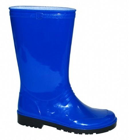 Blauwe pvc regenlaarzen Iris