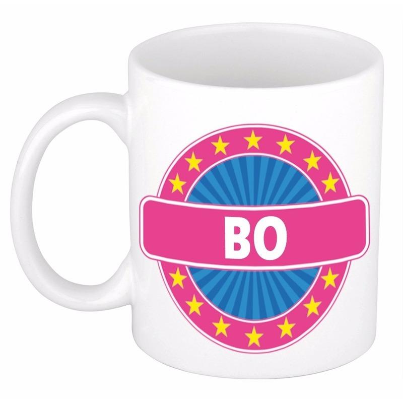 Bo naam koffie mok-beker 300 ml