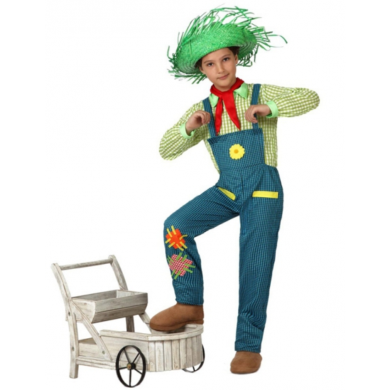Boeren jongen kostuum