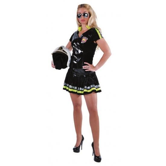 Brandweer vrouw kostuum
