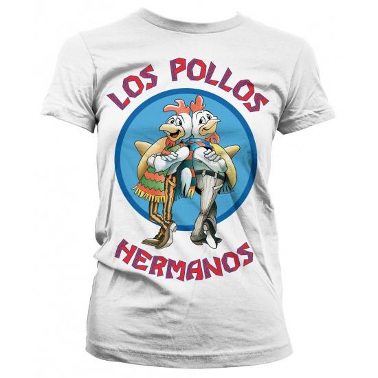Breaking Bad Los Pollos dames shirt wit