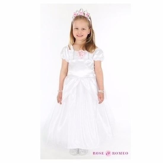 Bruidmeisje jurk wit