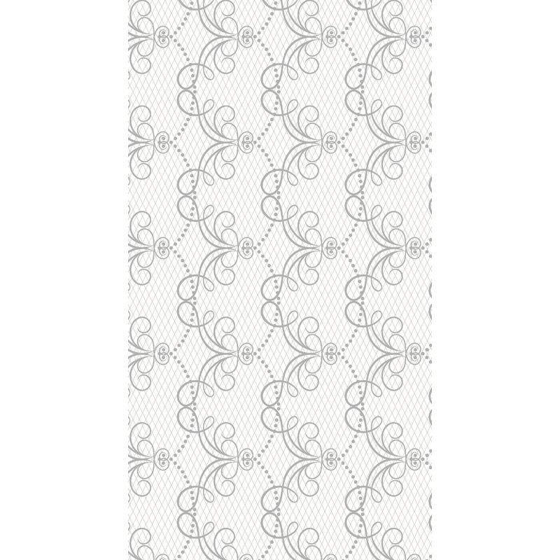 Bruiloft tafelkleed chique print 138 x 220 cm