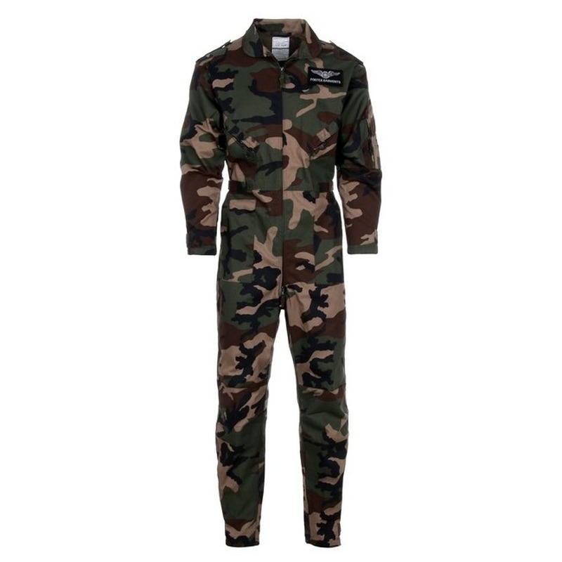 Camouflage kinder overall