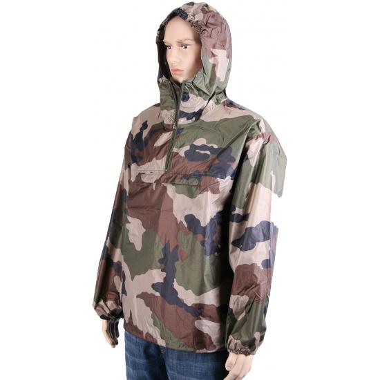 Camouflage regenjas