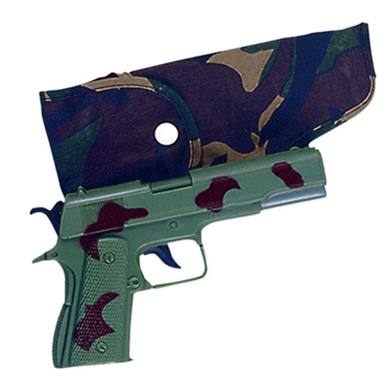 Camouflage speelgoed pistool