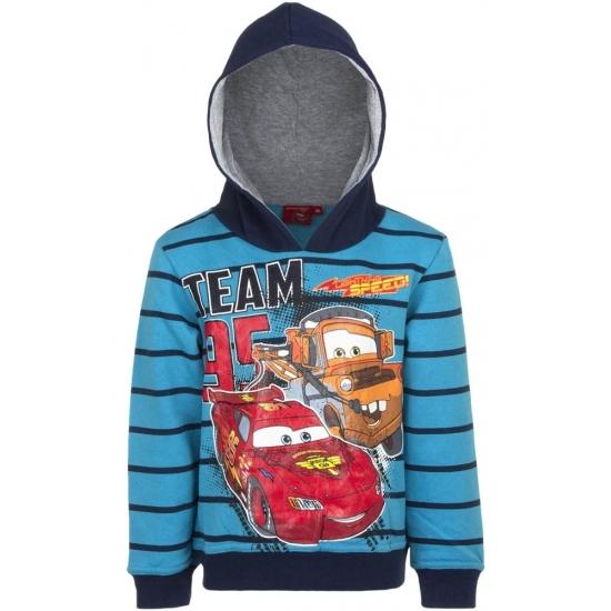 Cars capuchon sweater blauw voor jongens