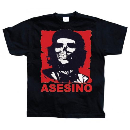 Che Guevara Asesino shirt heren