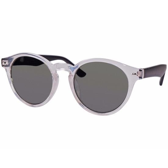 Clubmaster dames zonnebril transparant model 7002