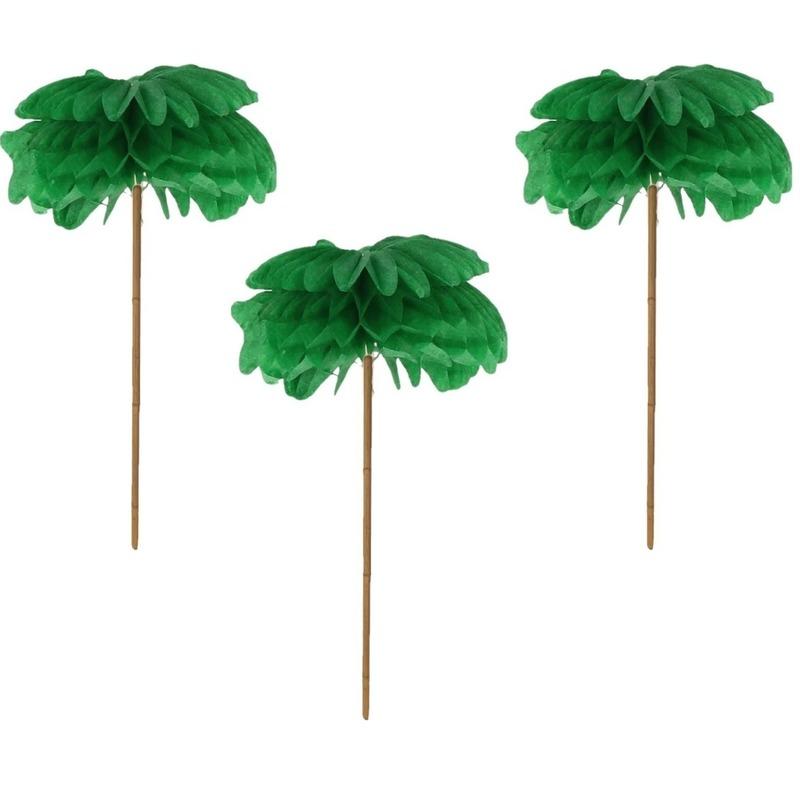 Cocktail prikkers palmboom 12 stuks