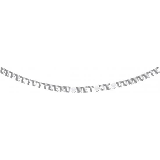 Communie letterslinger 4 meter