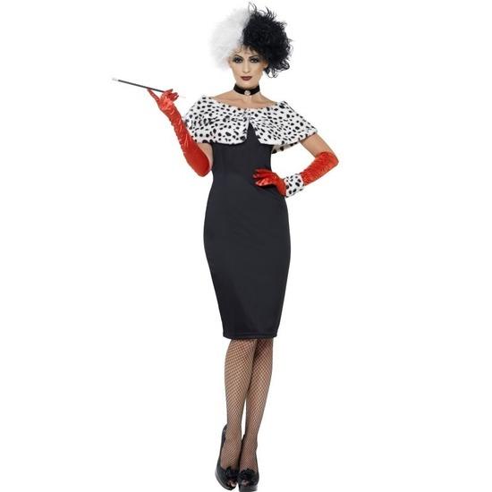 Cruella kostuum voor dames