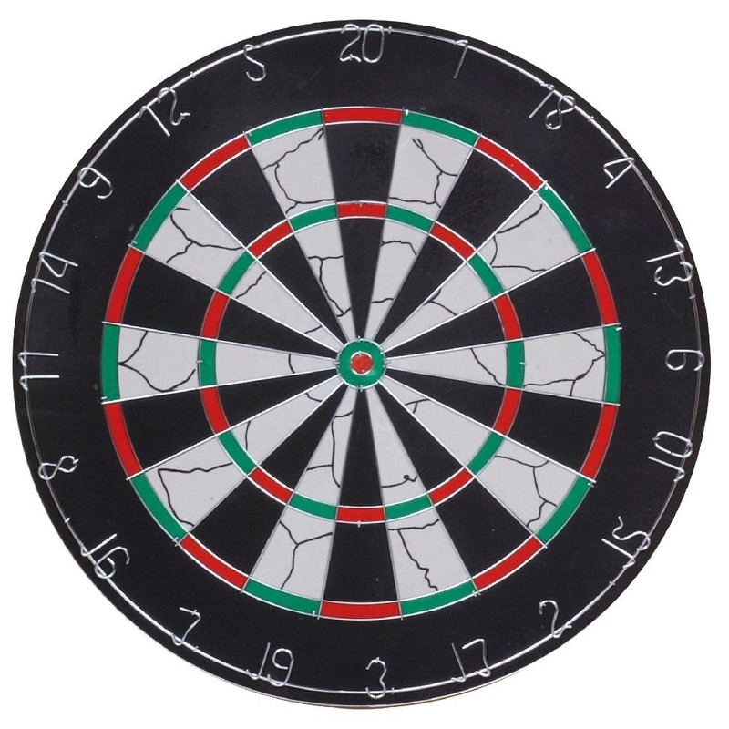 Dartbord Longfield set 45 cm