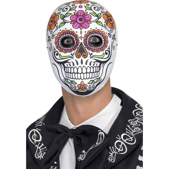 Day of the dead Senor Bones masker