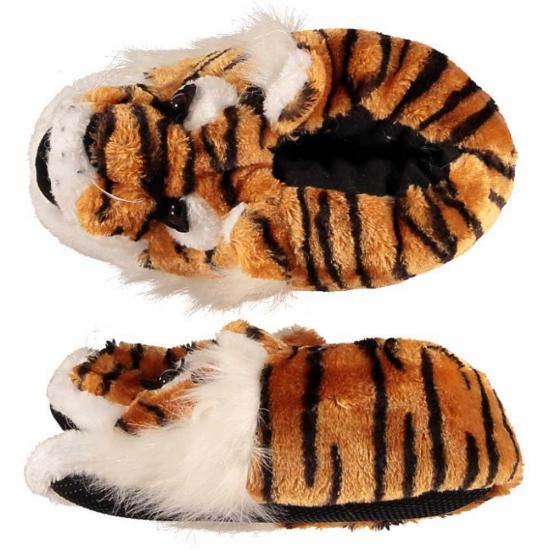 Dieren sloffen/pantoffels tijger voor dames