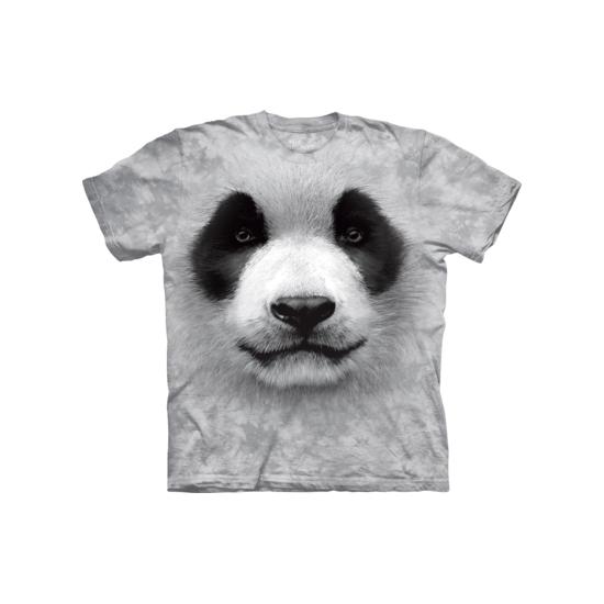 Dieren T-shirt Pandabeer voor volwassenen