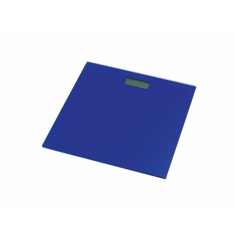 Digitale personenweegschaal blauw