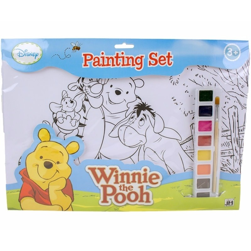 Disney A3 Schilderset Winnie De Poeh