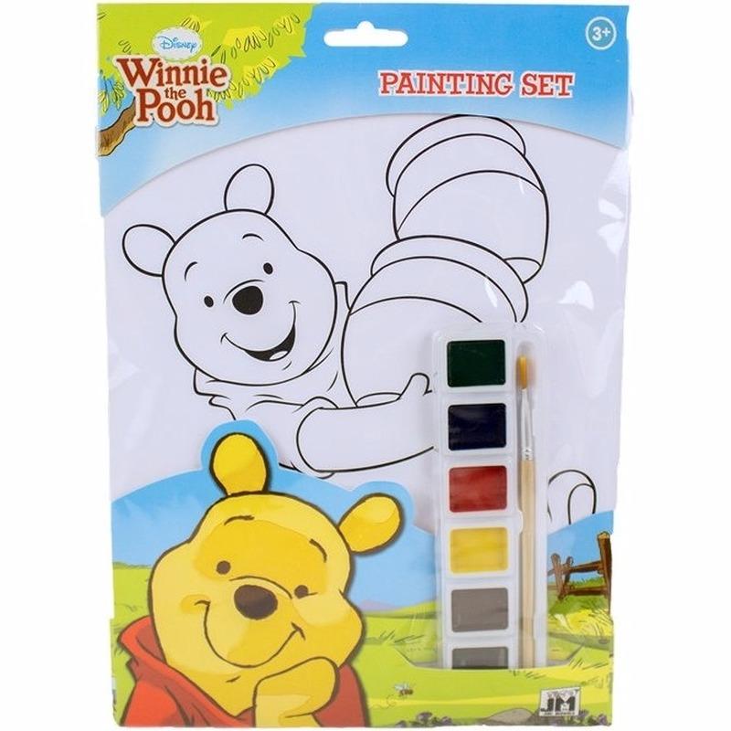 Disney A4 Schilderset Winnie De Poeh