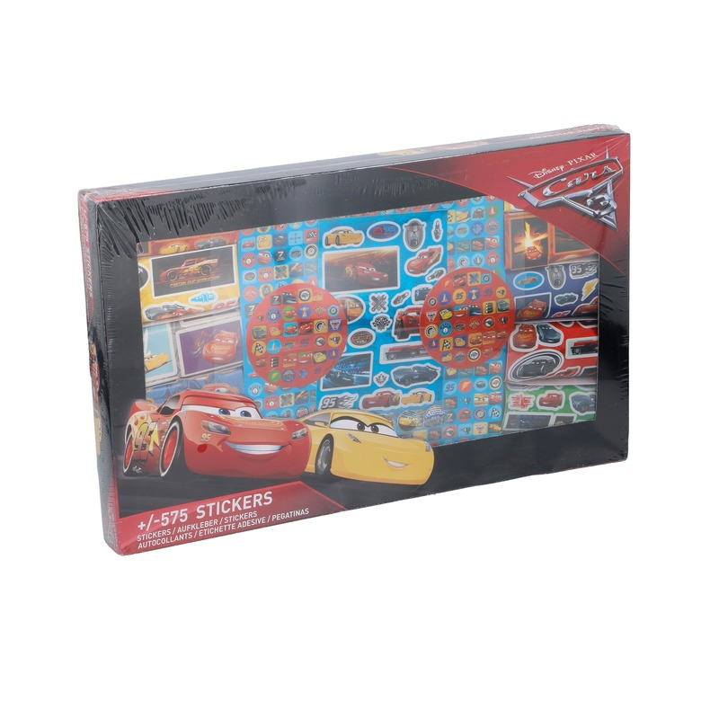 Disney Cars stickersbox 575 stuks
