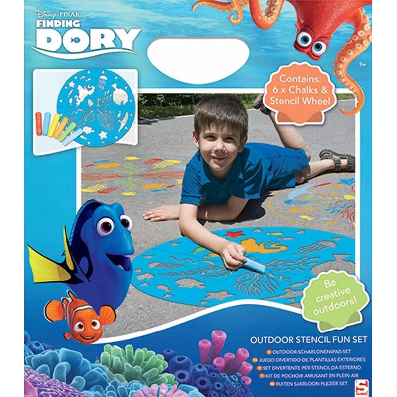 Disney Finding Dory stoepkrijt set