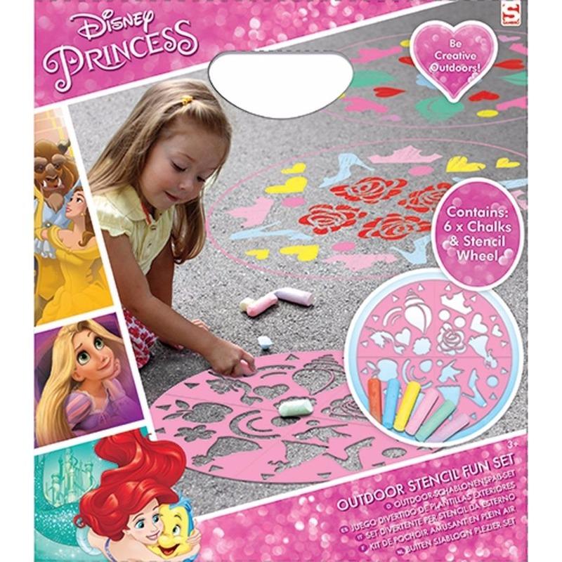 Disney Princess stoepkrijt set