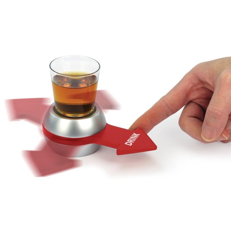 Drankspel/drinkspel shot spinner